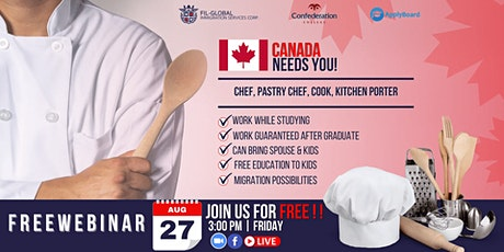 FREE WEBINAR EVENT FOR HOSPITALITY AND CULINARY PROGRAMS FOR FILIPINOS tickets