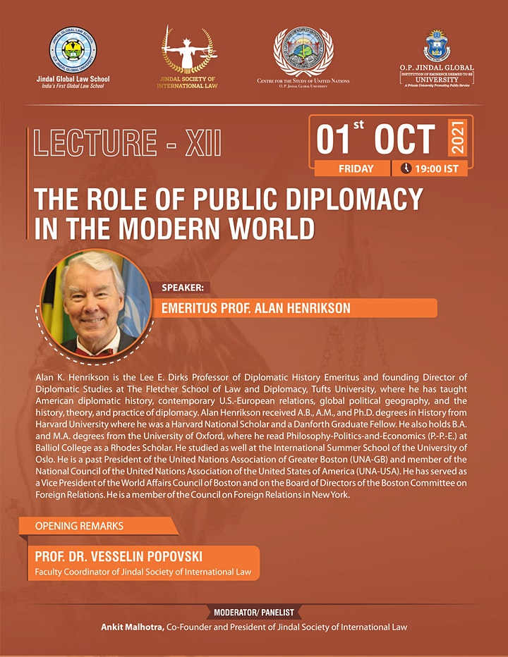The Role of Public Diplomacy in the Modern World image
