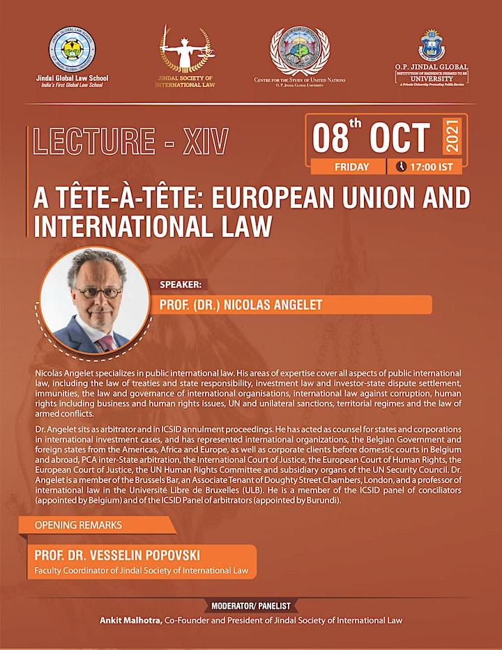 A TÊTE-À-TÊTE: EUROPEAN UNION AND INTERNATIONAL LAW image