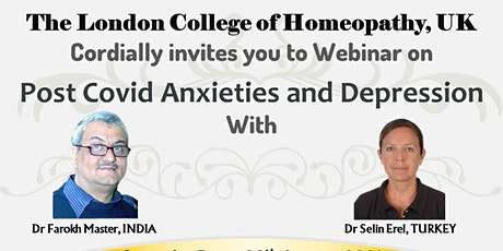 Post Covid Anxieties and Depression Webinar and Virtual Convocation of LCH tickets