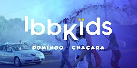 IBBKIDS - DOMINGO 9h  (2-3 anos) ingressos