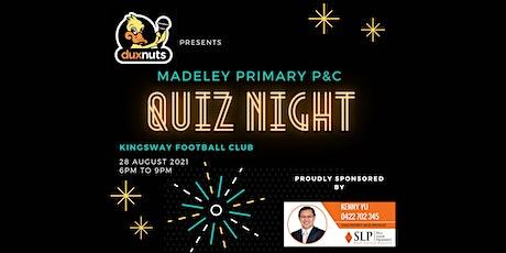 Madeley Primary P&C Quiz Night tickets