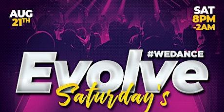 Evolve Saturday's #WeDance tickets