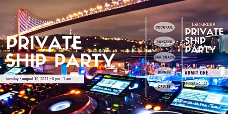 for the first time Party on the boat tickets