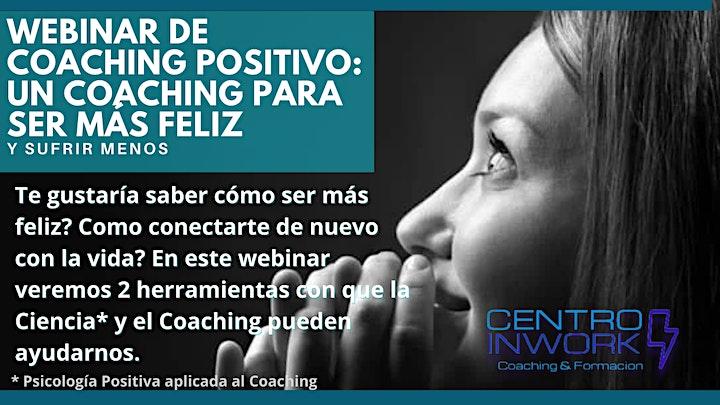 Imagen de Webinar  Gratuito de Lanzamiento Curso Coaching Positivo (3meses)