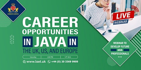 Career Opportunities in Java in the UK, US, and Europe tickets