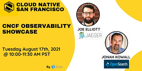 CNCF Observability showcase tickets