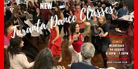 ITALIAN TARANTA DANCE CLASS SERIES tickets