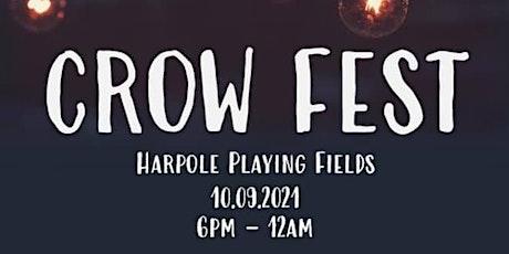 Harpole Scarecrow's Crow Fest 2021 tickets