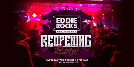 Eddie Rocks Reopening Party! tickets
