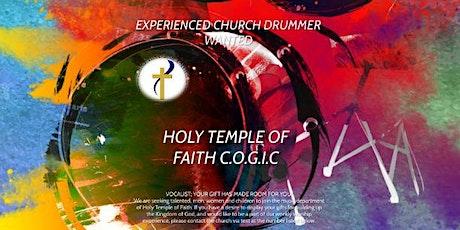 EXPERIENCED CHURCH DRUMMER & VOCALIST tickets