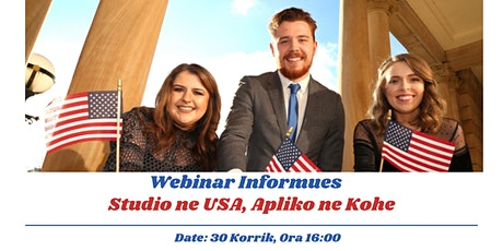 """Sesion Informues """"Studio ne USA, Apliko ne Kohe"""" tickets"""