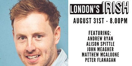 London's Irish: Backyard Comedy Club tickets