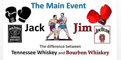 """""""The Main Event"""" the Difference between Bourbon & Tennessee Whiskey tickets"""