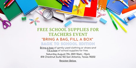"""""""Bring a Bag, Fill a Box"""" Event - Back to School Edition tickets"""