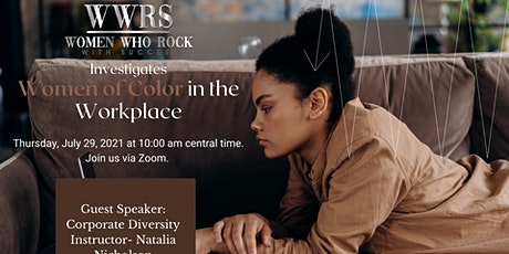 Women of Color in the Workplace tickets