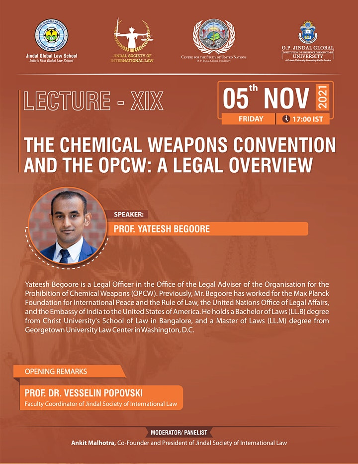 The Chemical Weapons Convention and the OPCW: A Legal Overview image