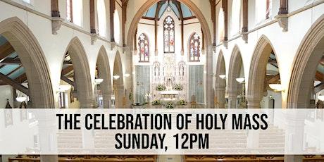 Sunday, 12pm Mass tickets