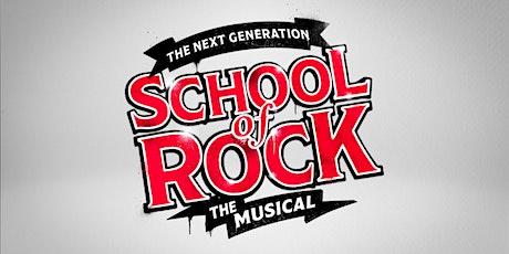 A Escola do Rock- O Musical - 08/08  15H ingressos