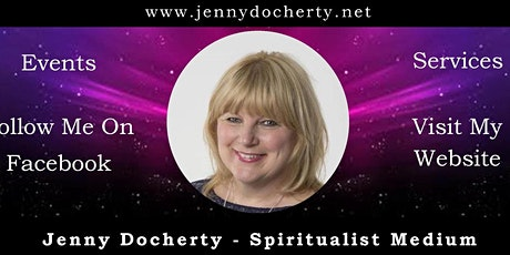 Jenny Docherty Spiritual Mediumship Demo tickets