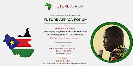 Future Africa Forum: With Gabriel Bol Deng tickets