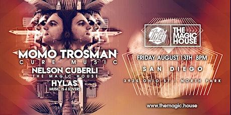 The Magic House - Momo Trosman (Cure Music) + Nelson Cuberli  + Hylas tickets