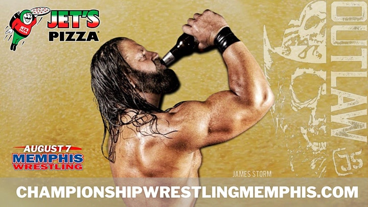 Memphis Wrestling Saturday Night August 7 with TEDDY LONG & JAMES STORM image
