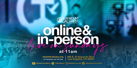 Sunday In-Person Worship tickets