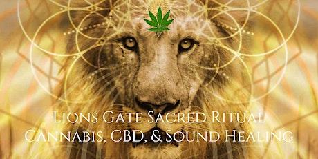 Lions Gate Sacred Ritual: Cannabis, CBD, & Sound Healing tickets