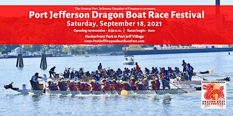 Port Jefferson Dragon Boat Race Festival tickets