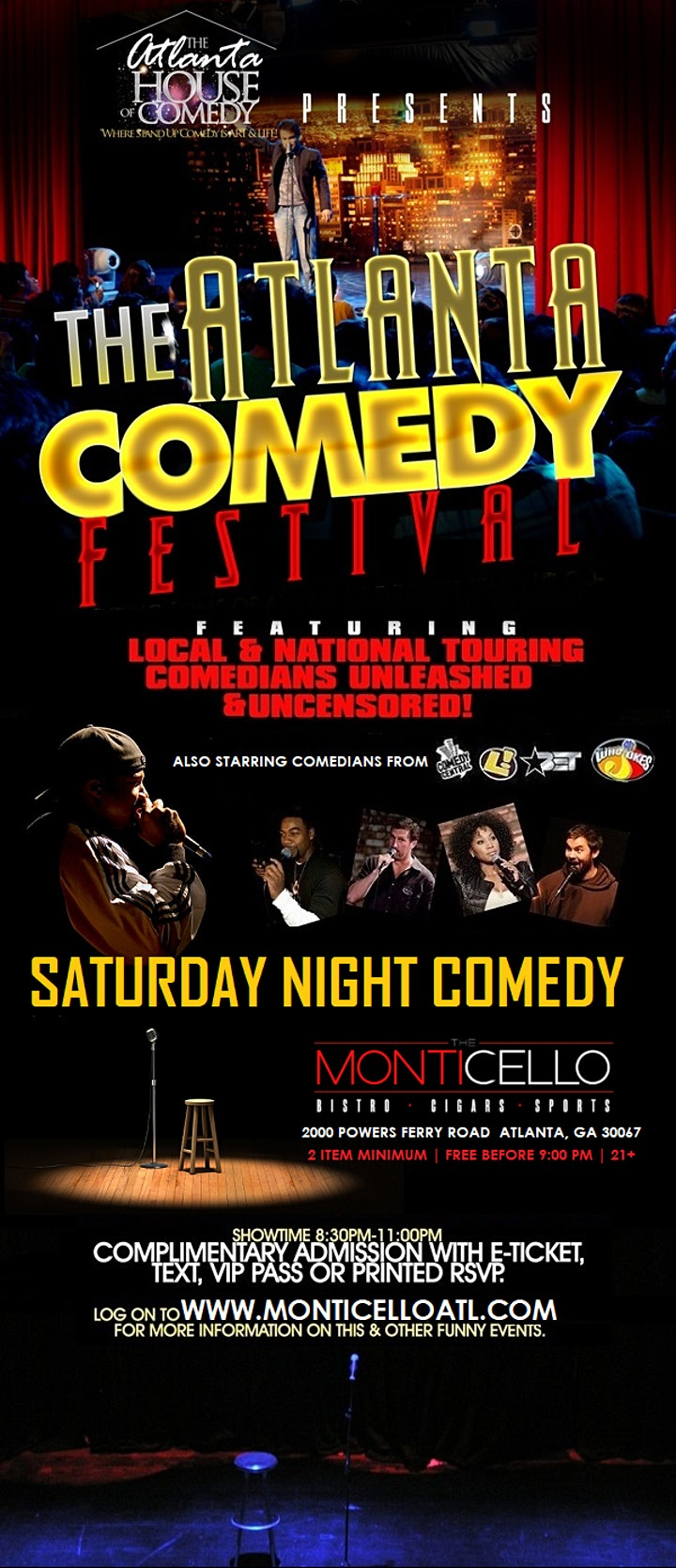 ATL Comedy Festival Weekend image