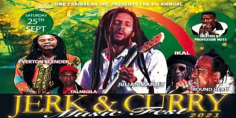 Jerk and Curry Music Fest 2021 tickets