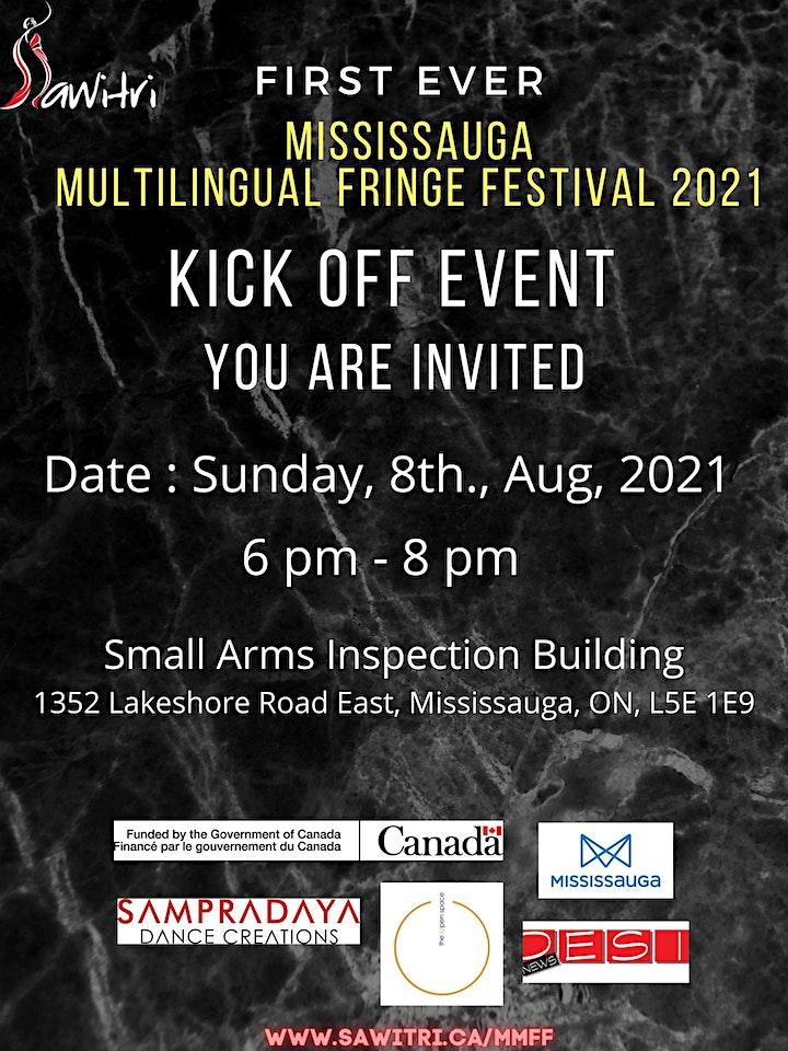 Mississauga Multilingual Fringe Festival - Kick Off image