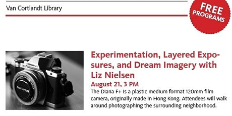 Photography Workshop - Diana F+: Experimentation, Layered Exposures, and Dr tickets