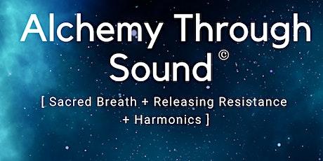 Soundbath (with meditation) tickets