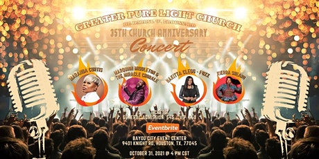 35th Anniversary Concert - Greater Pure Light Church tickets