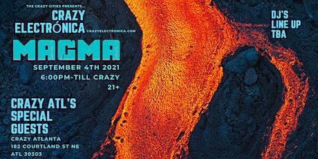 MAGMA at Crazy Atlanta tickets