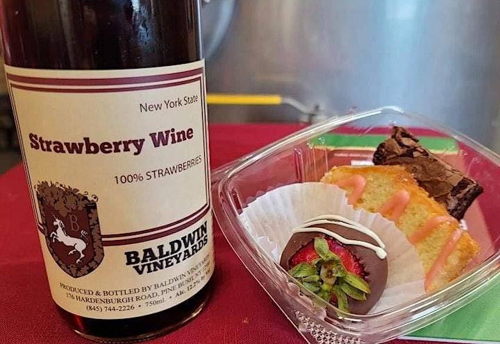 Strawberry, Chocolate & Wine Pairing image