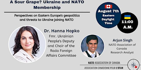 A Sour Grape: Perspectives on Ukraine and  NATO membership tickets