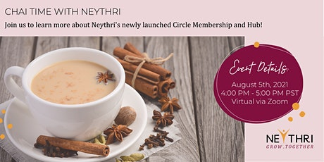 Chai Time with Neythri - All You Want to Know About Neythri Circles & Hub tickets