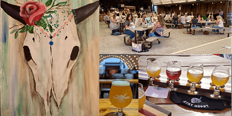 Dying Breed Brewing Cow Skull Sip and Paint! tickets