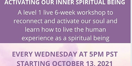 Activating Our Inner Spiritual Being tickets