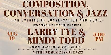 Composition, Conversation & Jazz tickets