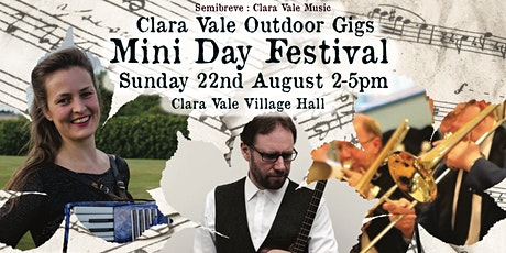 Mini Day Festival! Clara Vale Outdoor Gigs with food from The Bay Trees tickets