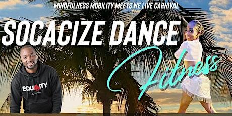 SOCACIZE ( WATER & RUM COOLER PREP) DANCE FITNESS WORKSHOP tickets