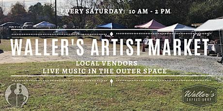 8/21 Vendor Sign up for Artist Market tickets