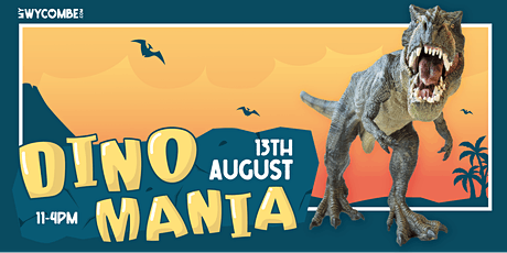 DinoMania Comes to High Wycombe: See The World's BIGGEST Animatronic Dino tickets