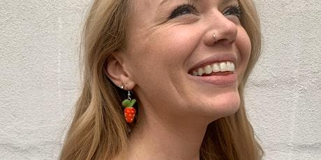 Needle Felting: Fruity Summer Earrings tickets