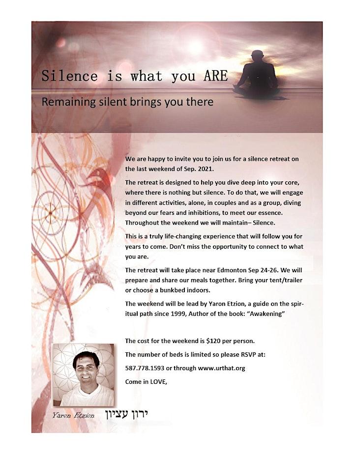 OPEN HEART Silence retreat image