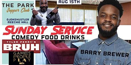 "Jokehustlers Sunday Service ""Barry Brewer"" The Park Supper Club tickets"